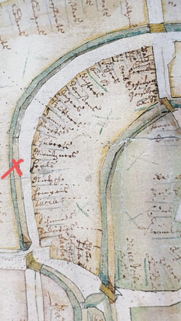 Stadtplan 1723